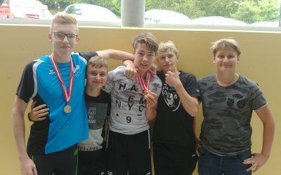 Medaillen bei den Schwimmmeisterschaften